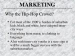 why the hip hop crowd