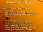 existing similar business96