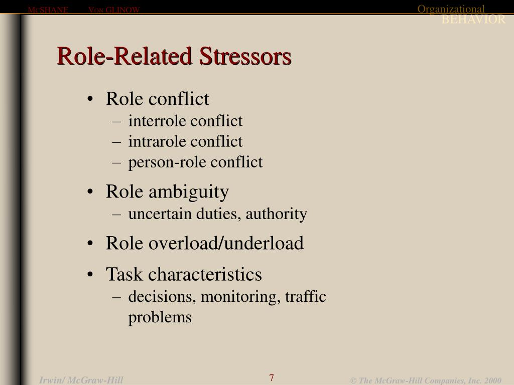 Role-Related Stressors