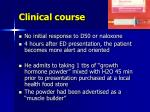 clinical course73