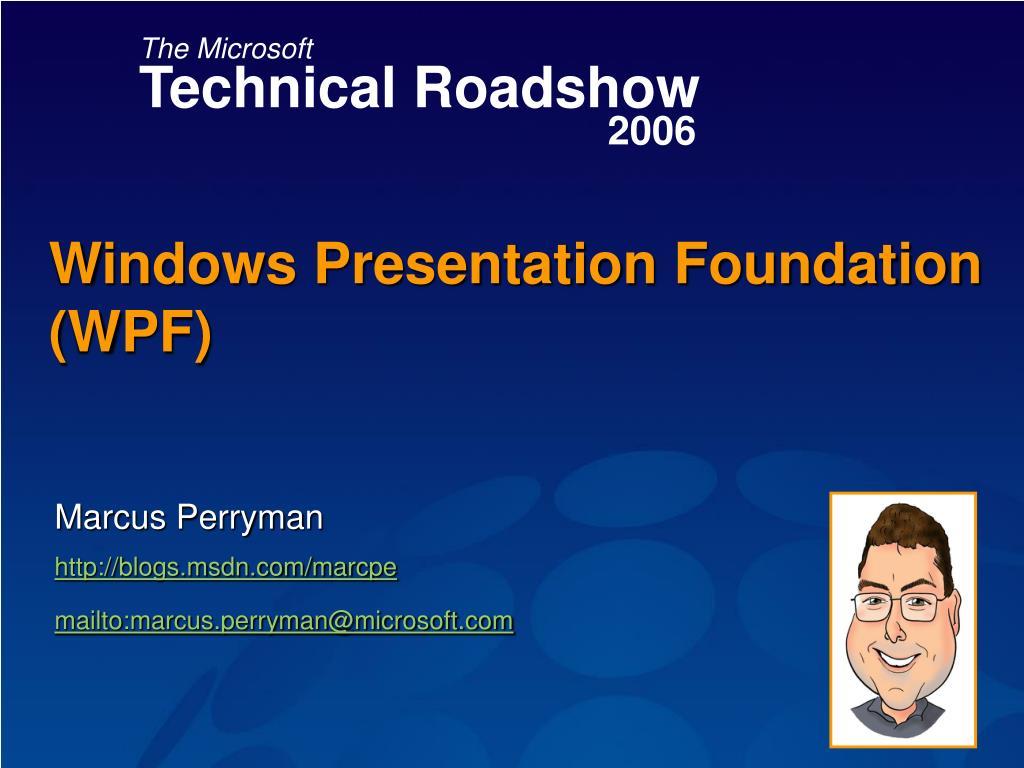 windows presentation foundation wpf l.