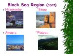 black sea region cont