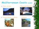 mediterranean coasts cont