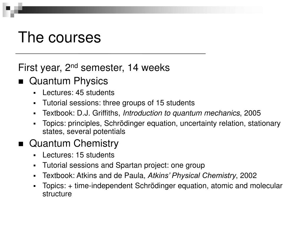 PPT - Entangled with Quantum Mechanics PowerPoint Presentation - ID