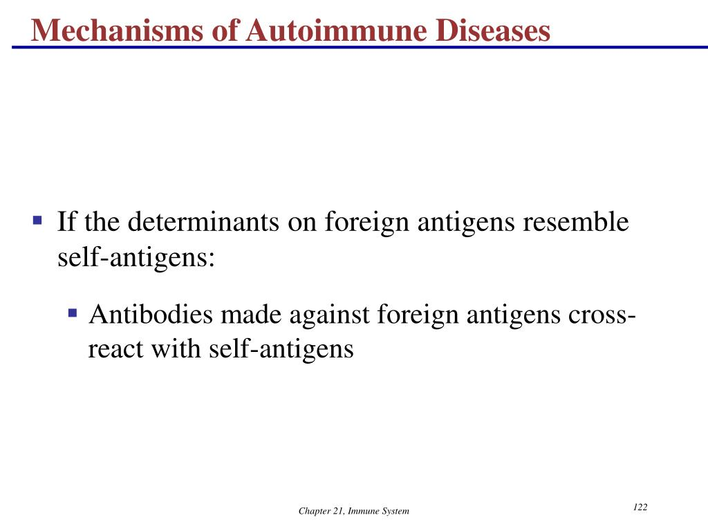 Mechanisms of Autoimmune Diseases