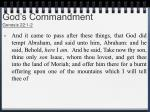 god s commandment genesis 22 1 2