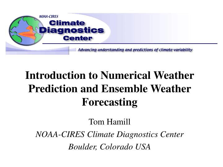 an introduction to weather forecasting Human forecasters and technology harold brooks noaa/erl/national severe storms laboratory norman, oklahoma (in preparation for a presentation on challenges for technology developers to be made at the 5th aes/cmos workshop on operational meteorology, 28 february-3 march 1995, edmonton, alberta and as part of an ongoing.