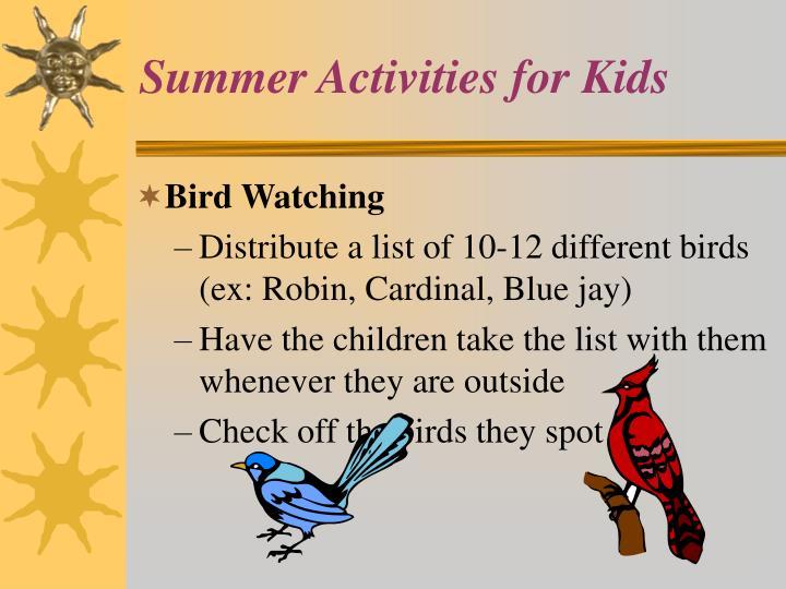 Summer activities for kids3