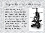 steps to focusing a microscope6