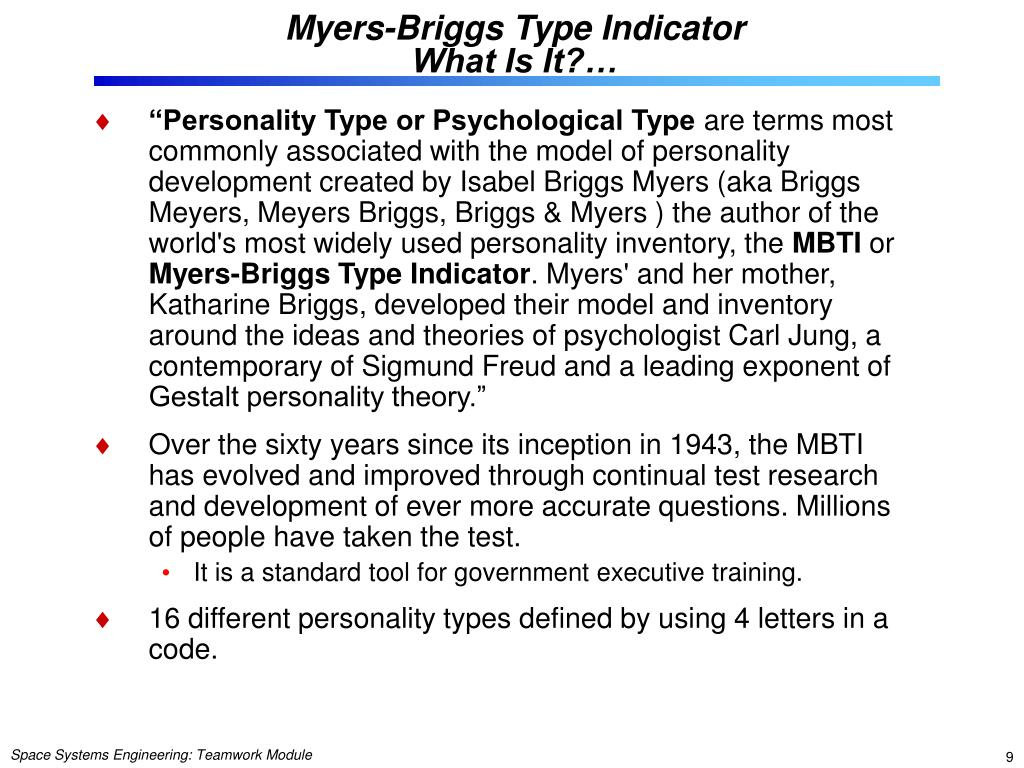 understanding my identity personality and interests through the myers briggs type indicator tests