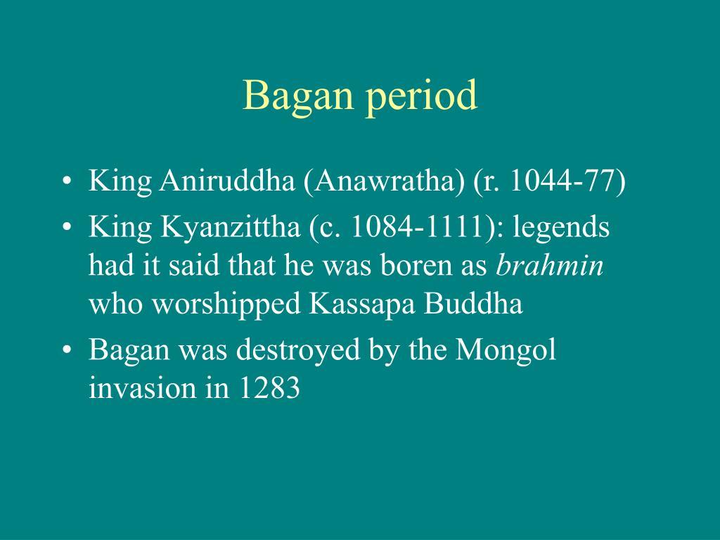 Bagan period