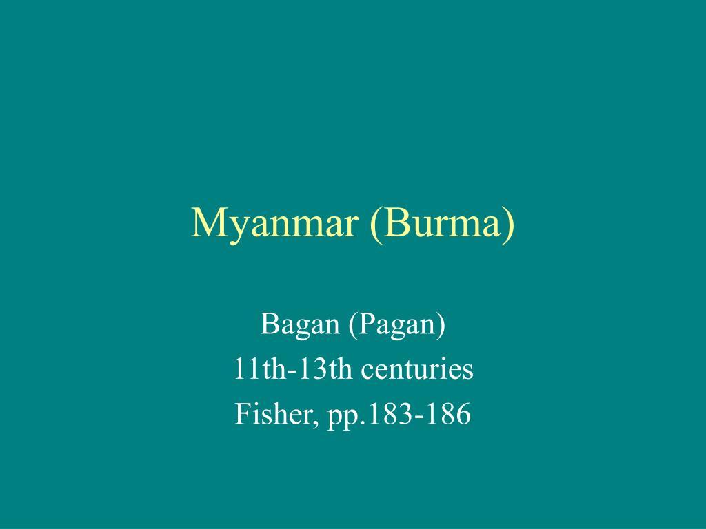 myanmar burma l.