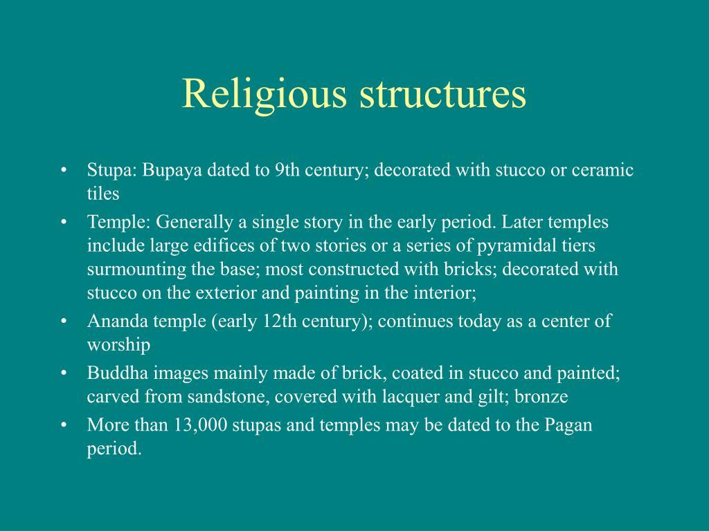 Religious structures