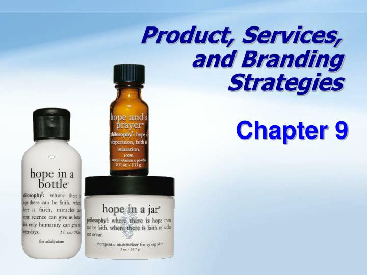 product services and branding strategies n.