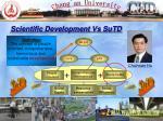 scientific development vs sutd