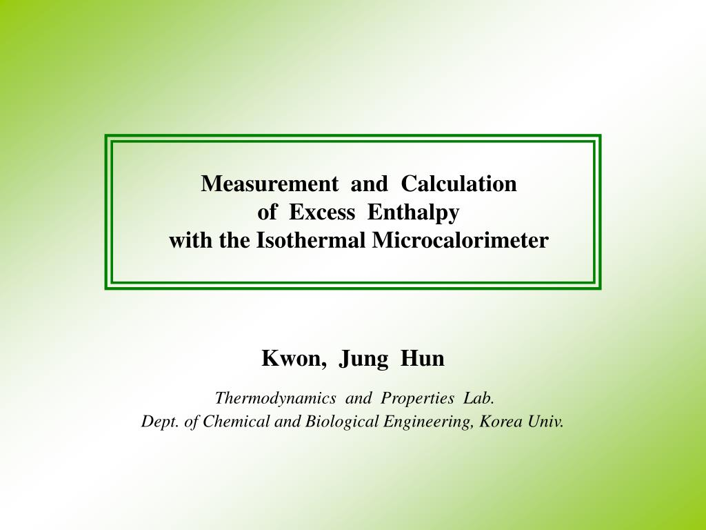 Measurement  and  Calculation