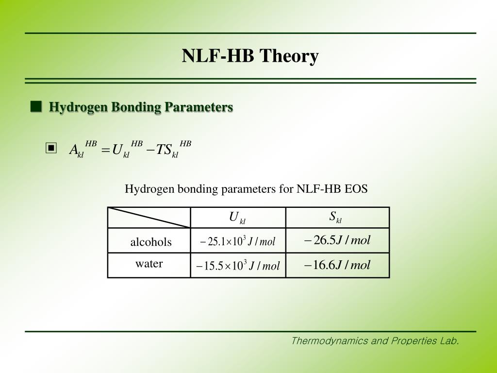 NLF-HB Theory