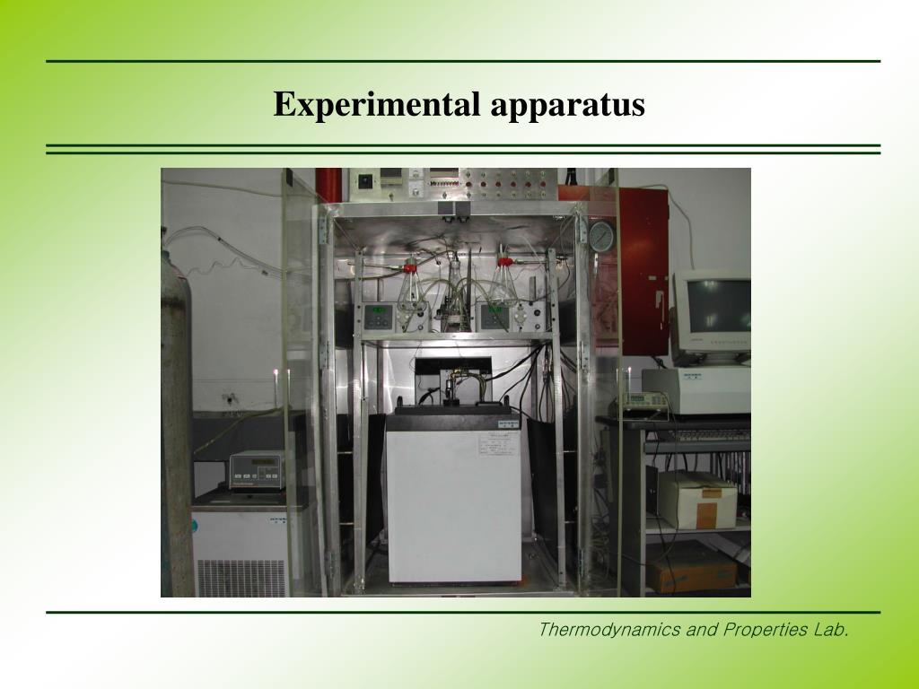 Experimental apparatus