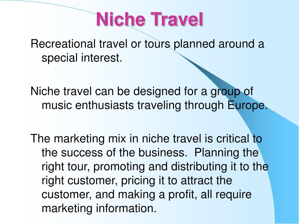 Niche Travel