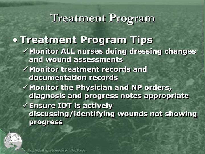 Treatment Program