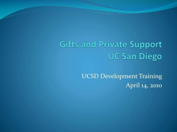 gifts and private support uc san diego n.