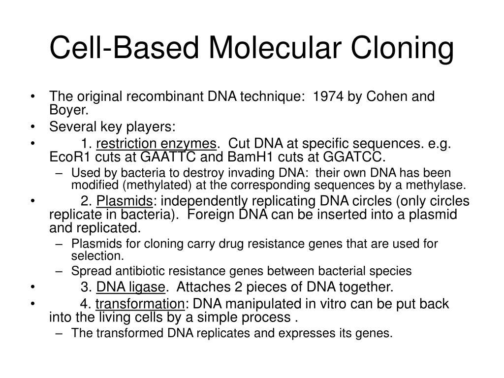 Cell-Based Molecular Cloning