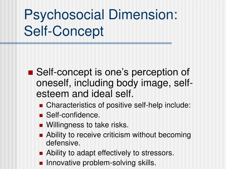 essays characteristics self concept Self-concept and people essay sample self-concept is the cognitive thinking aspect of self also related to one's self-image, it's the way we see ourselves in the mirror we are grown into our self-concept by what we learn when we are young from our parents or our peers.