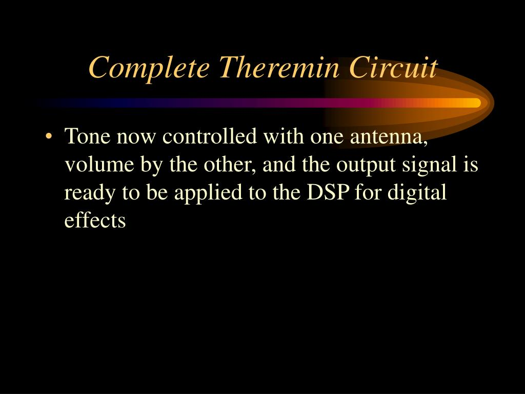 Complete Theremin Circuit