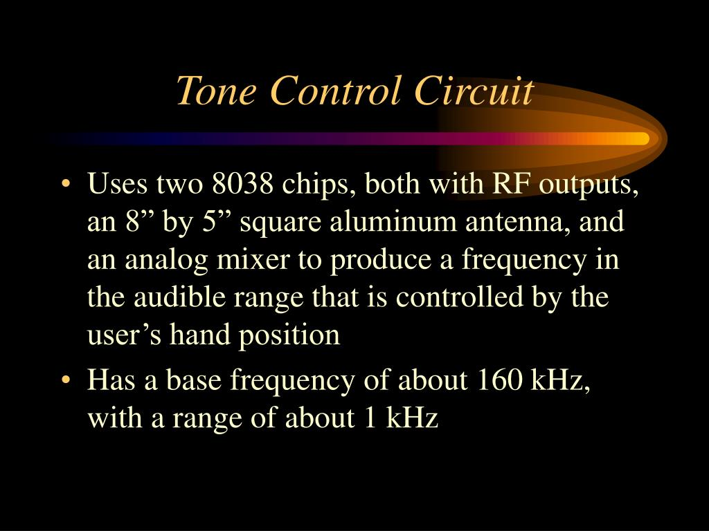 Tone Control Circuit
