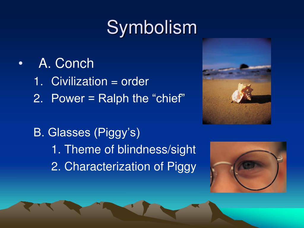 theme of blindness