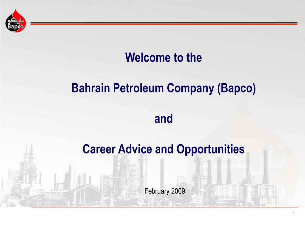 Bapco Bahrain Salary