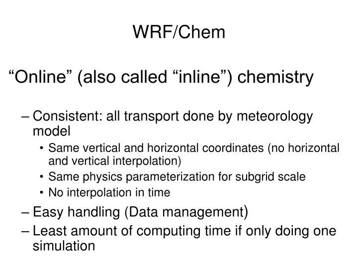 Wrf chem