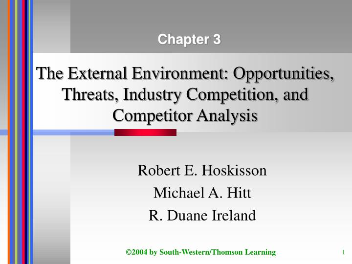 mcdonald s external environment opportunities and threats Swot analysis of [pepsico, campbell soup's  (mcdonald's) continue with and external factors (opportunities & threats).