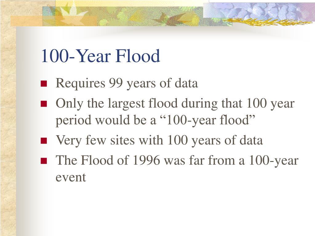 100-Year Flood