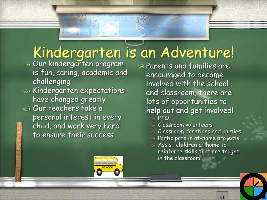 Our kindergarten program is fun, caring, academic and challenging