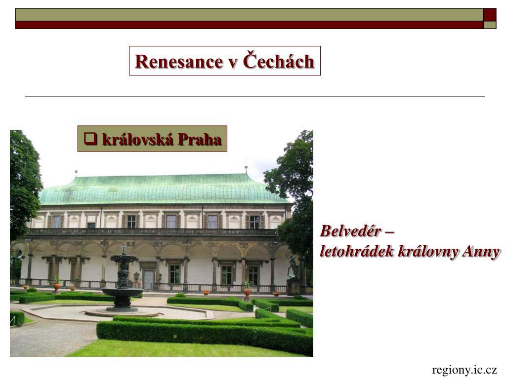 Renesance v Čechách