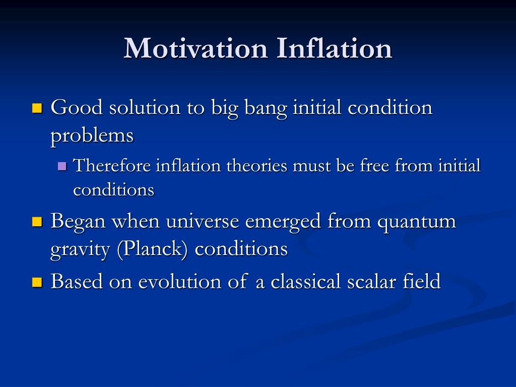 PPT - Inflation and Scalar Fields PowerPoint Presentation - ID:307055