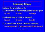 learning check9