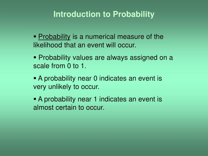 introduction to probability n.
