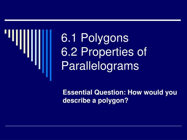 6 1 polygons 6 2 properties of parallelograms n.