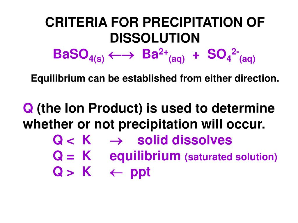 PPT - Solubility Equilibria PowerPoint Presentation - ID ...