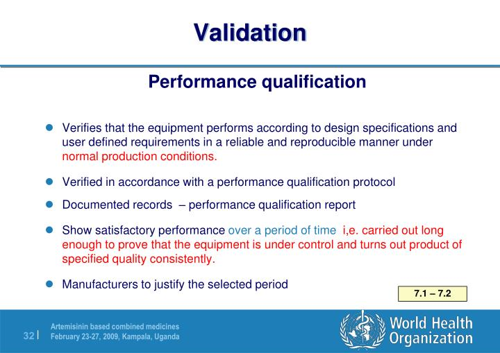 Ppt Equipment And Its Qualification Powerpoint Presentation Id