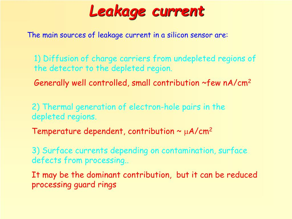 Leakage current