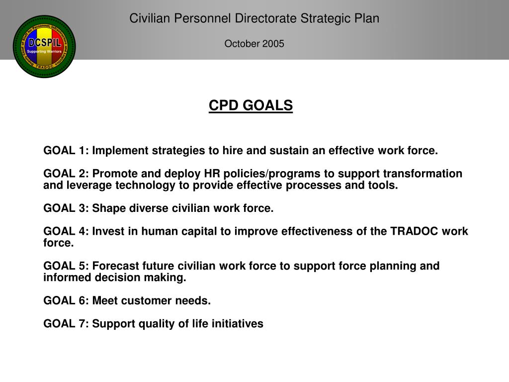 CPD GOALS