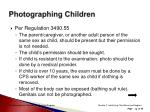 photographing children