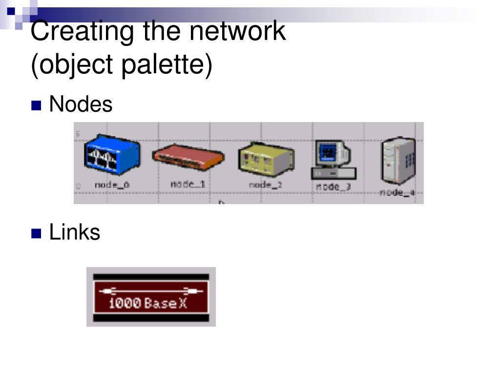 Creating the network