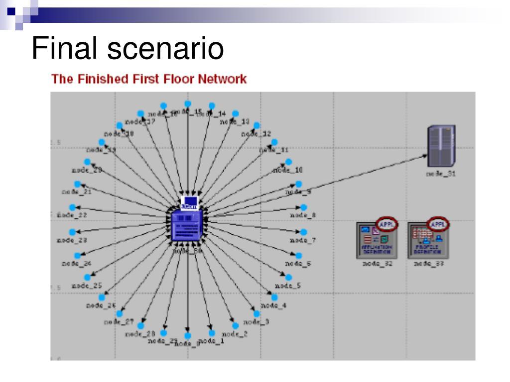 Final scenario