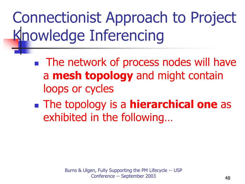 Connectionist Approach to Project Knowledge Inferencing