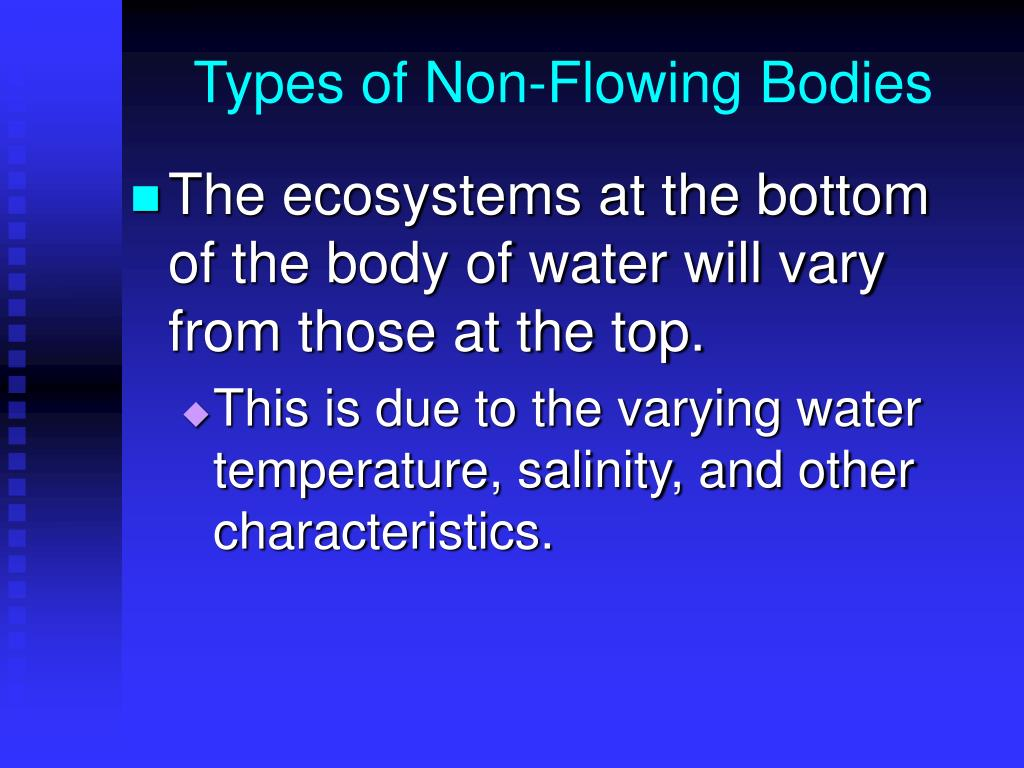 Types of Non-Flowing Bodies