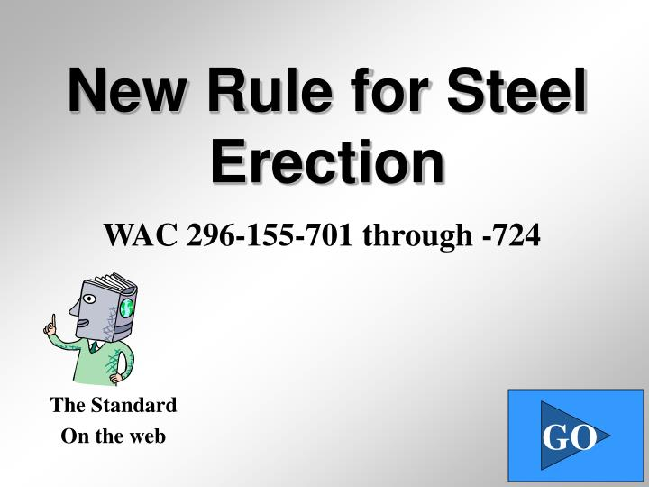 new rule for steel erection n.